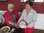 The St. Lawrence County Chapter honored 60 year member Patricia McGrath
