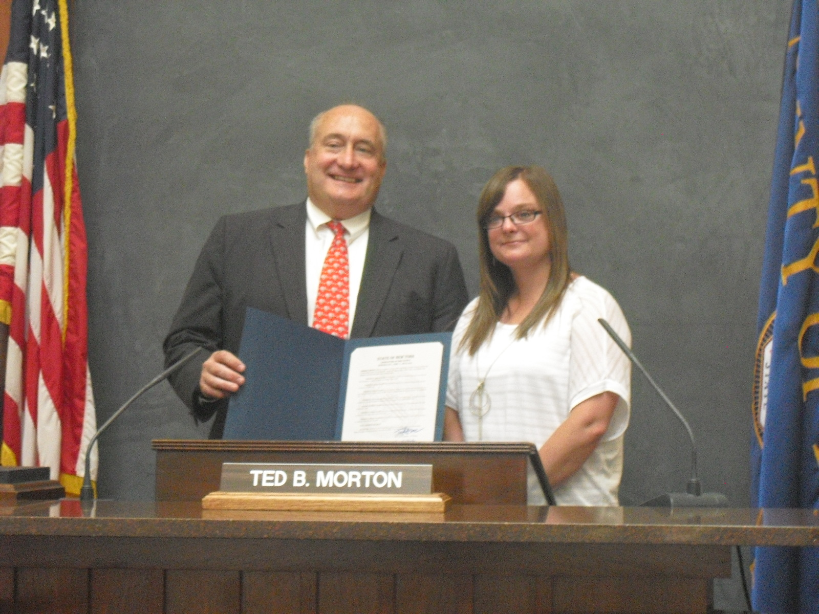 Renee Cerullo and Ted Morton Erie County Legislative